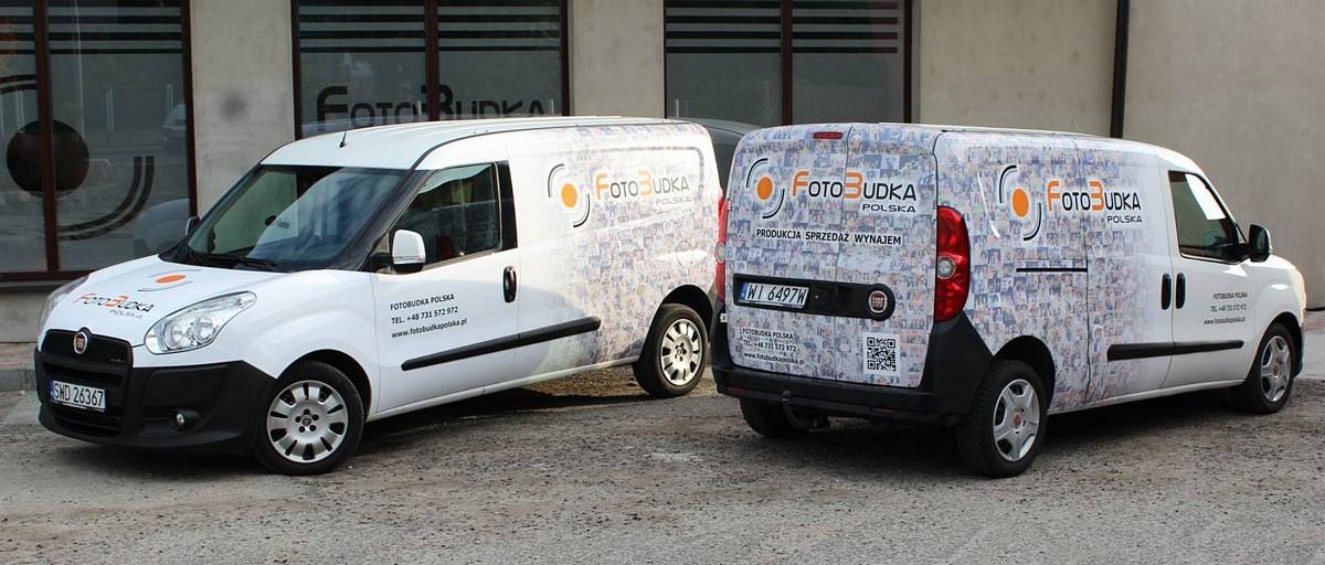 Fotobudka trasa FIAT DOBLO