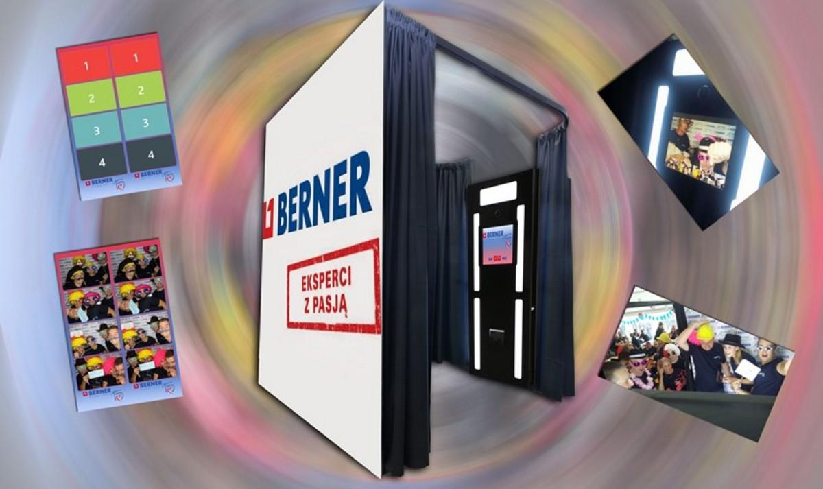 Berner impreza firmowa Kroczyce Fotobudka